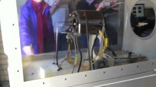 10lbf turbojet engine start-up
