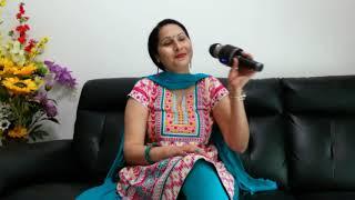Bade armanon se rakha hai balam teri Qasam (Mukesh and Lata Mangeshkar) sung by Manju Bala