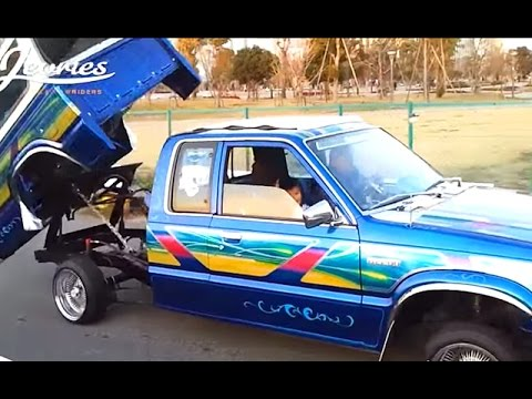 Lowrider Mazda B2200 Mini Truck Beddancer Bblue Japan
