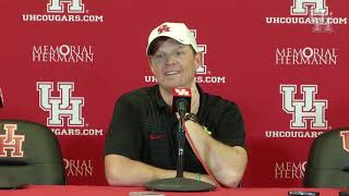 Postgame Interviews: Major Applewhite (10.5.18 vs. Tulsa)