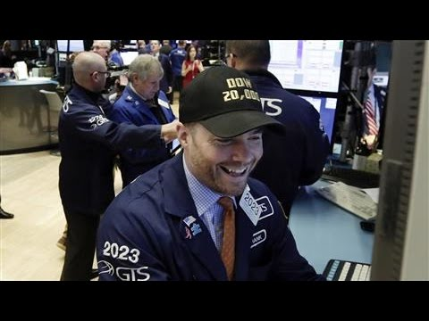 Dow Industrials Closes Above 20000 Milestone for First Time