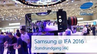 Samsung @ IFA 2016  Standrundgang durch den Berliner Citycube 4k