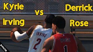 Kyrie Irving vs Derrick Rose | NBA 2K15 PC Blacktop Mode 60FPS