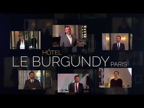 Le Burgundy Hôtel *****, partenaire Afpa, pour la formation aux métiers Hôtellerie Restauration