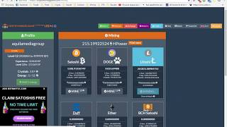 Earn Bicoin With Crypto Mining Game