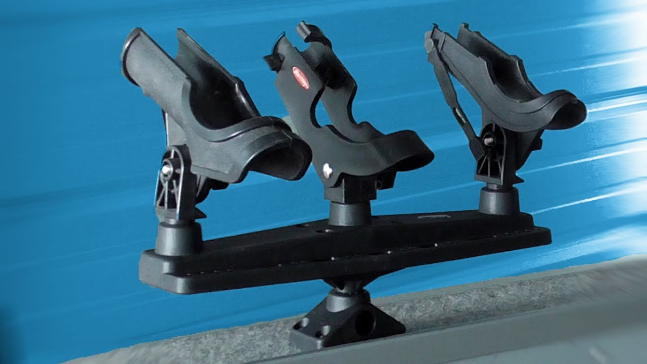 Download Rod Holders for the Boat - Scotty Triple Rod Holder Review and Install (How To)