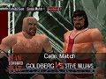 WWF Wrestlemania 2000 Rom Hack Matches   STEEL CAGE MATCH   Goldberg vs Steve Williams