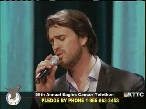 Eagles Cancer Telethon 2013: Ben Utecht - And Now My LifeSong Sings - Casting Crowns