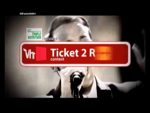 Garnier Fructis Presents Vh1 Ticket To Ride To The X Factor Finale Promo