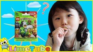 뭐가 들었지? 레고 미니 피규어 13 서프라이즈 에그 장난감 놀이 LimeTube & Toy 라임튜브