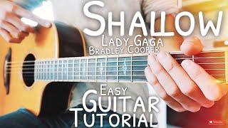 Baixar Shallow Lady Gaga Bradley Cooper Guitar Tutorial // Shallow Guitar // Guitar Lesson #567