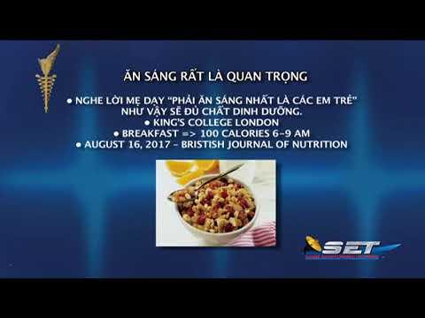 Ăn Sáng Rất Quang Trọng | Bác sĩ Phạm Đặng Long Cơ | SET TV 08/25/2017