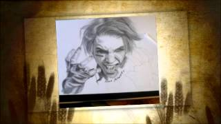 Artworks of Andy Biersack ( Drawings )