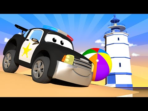 Car Patrol -  Special summer - Sunday sundae - Car City ! Police Cars and fire Trucks for kids