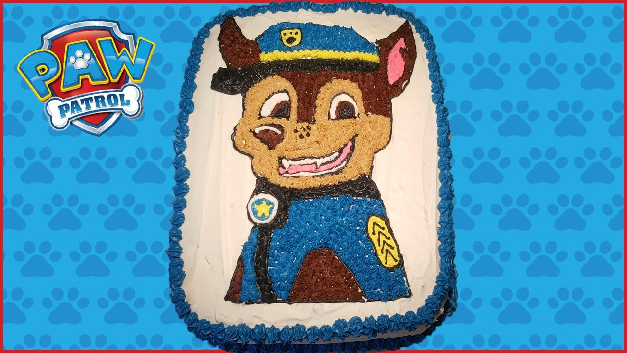 How To Make A Paw Patrol Cake Youtube