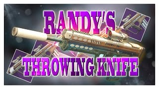 Tips & Guide for Acquiring Randy's Throwing Knife | Destiny 2 Shadowkeep