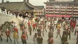 Thrill The World 2009 XIAN SHAANXI CHINA