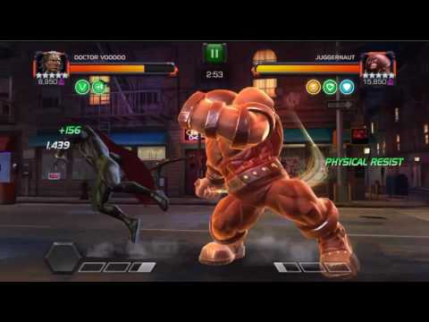 MCOC AQ Map 6 Dr Voodoo Fights