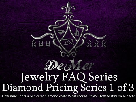 Diamond Pricing Series 1 of 3 How much does a 1 carat diamond cost?
