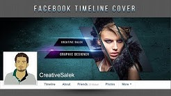 Photoshop CC Tutorial | Create Stylish Facebook Timeline Cover