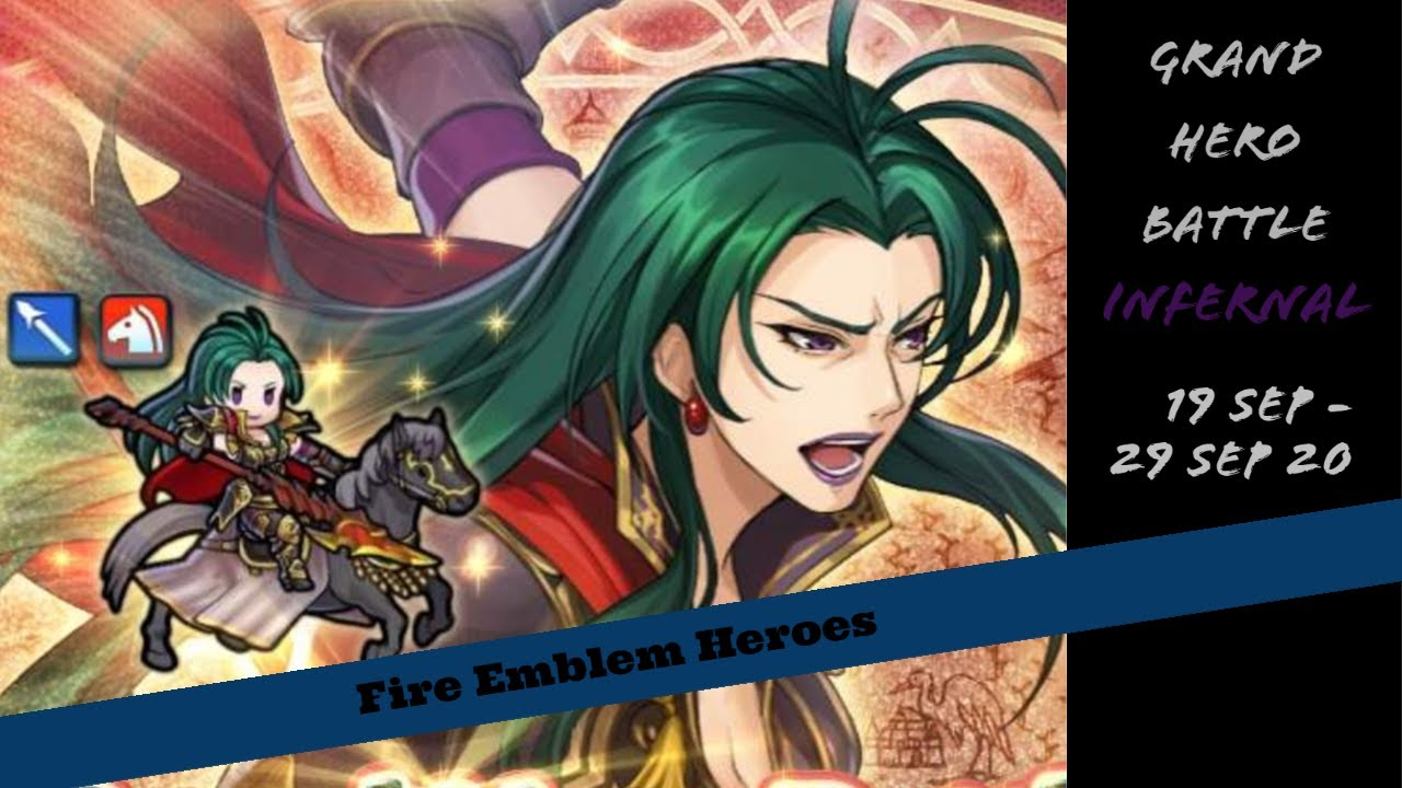 Fire Emblem Heroes - Grand Hero Battle -- Jorge: Travelling Peddler (Infernal)