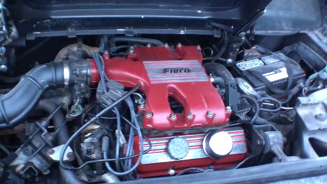 P L likewise Maxresdefault together with Harold Sc as well Pontiac Fiero Gt Cjb Factory T Top V Automatic besides . on fiero v6 engine