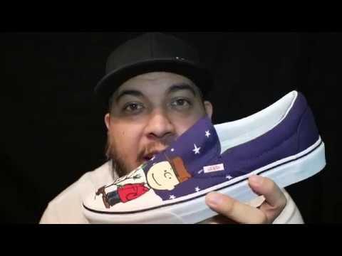 Christmas Vans Peanuts 2020 2017 Vans x Peanuts Slip On (A Charlie Brown Christmas) review +