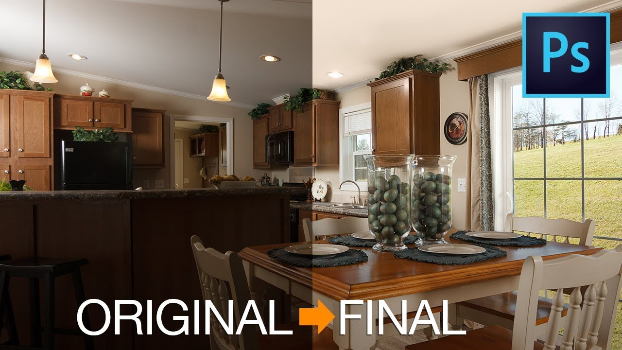 How I Do It | Editing a Commercial Interior Image in Photoshop