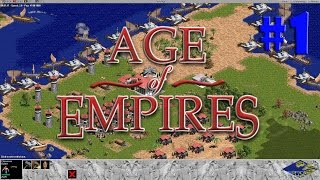 Age of Empires - Ascent of Egypt Learning Campaing #1,#2,#3,#4 (Gameplay / PC / PTBR)