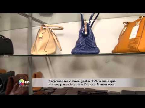 Catarinenses devem gastar 12% a mais que no ano passado com o Dia dos Namorados