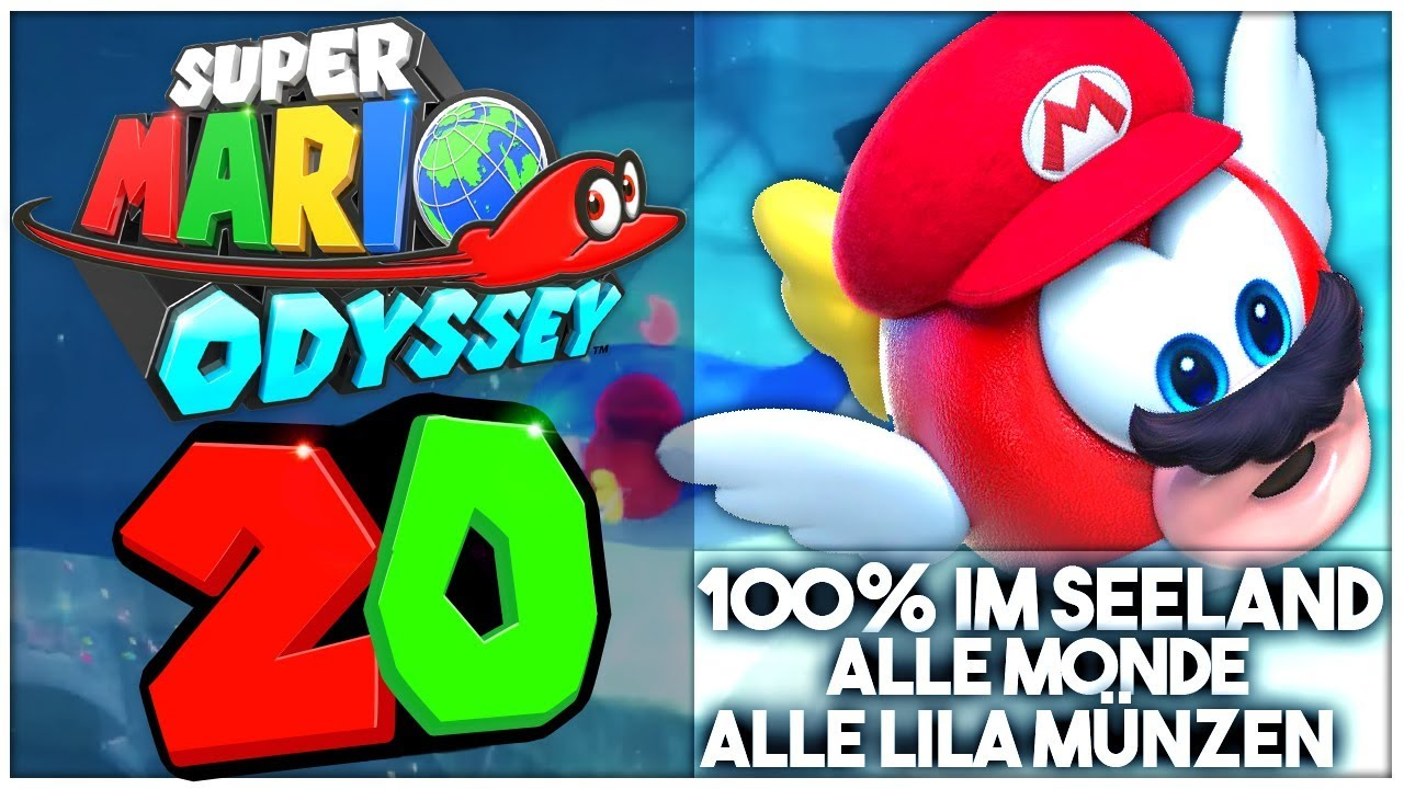 Super Mario Odyssey Part 20 Alle Power Monde Lila Münzen Im