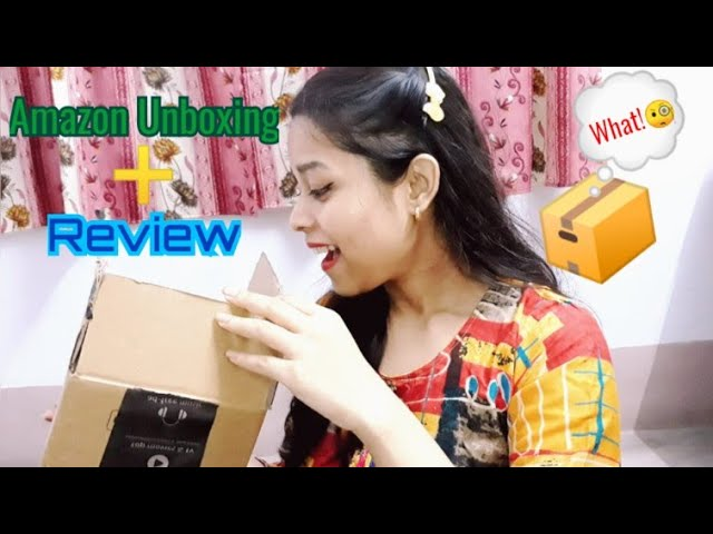 Amazon Unboxing 📦 + Product review ❤️ || A special gift 😊