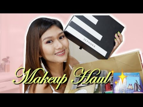 COLLECTIVE MAKEUP HAUL (Sephora,Singapore Haul,Tarte,Etc.) 2017
