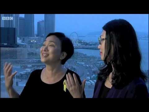 Kelly Yang and Emily Lau debate on BBC Newsnight