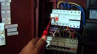 видео Схема трехфазной электропроводки в частном доме