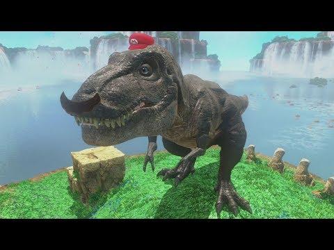 Super Mario Odyssey - Cascade Kingdom 100% Guide (All Moons & Purple Coins)