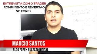 Entrevista com o Trader #2 - Rompimento e Reversão no Forex