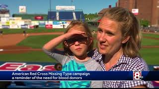Missing Types campaign looks to encourage blood donors