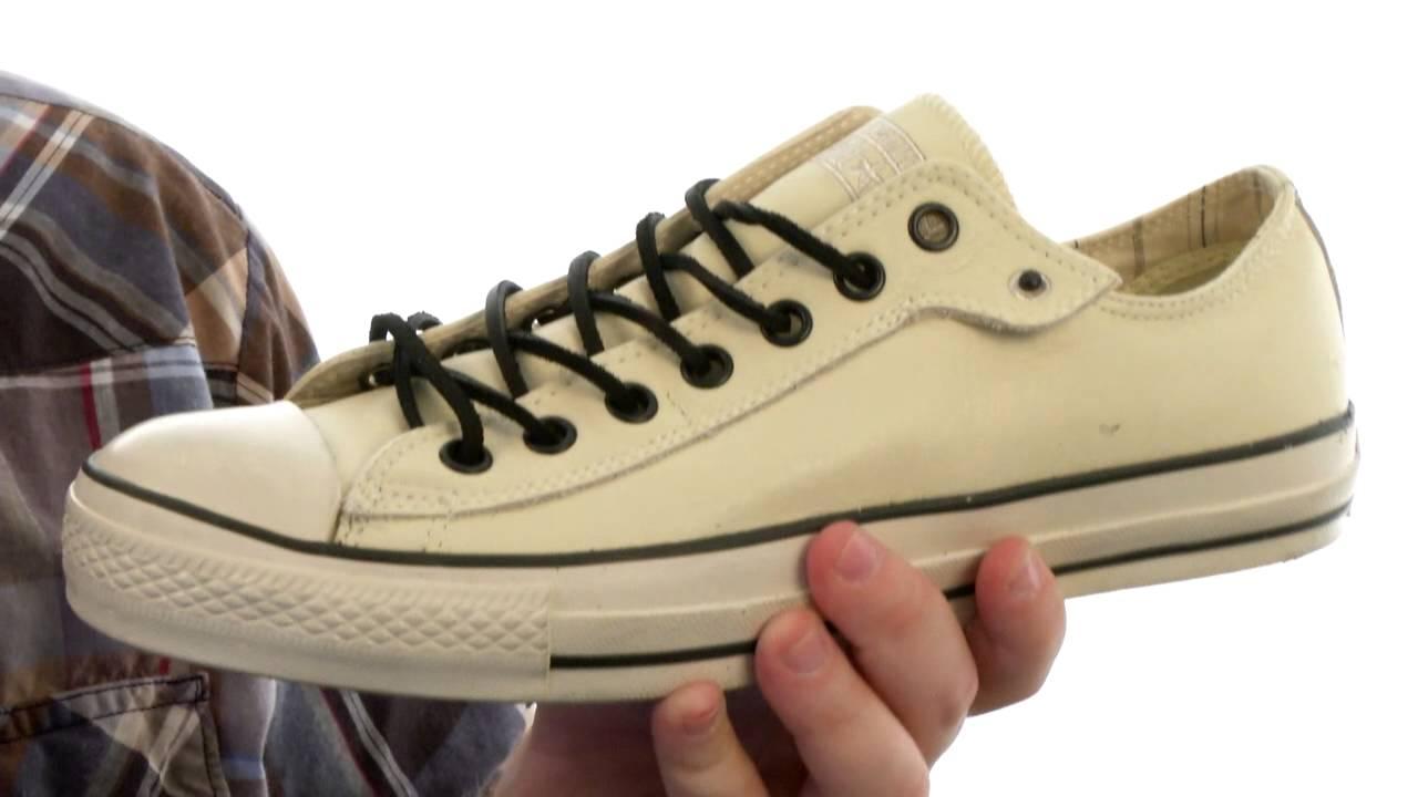 Converse by John Varvatos Chuck Taylor All Star Ox Stud Closure Leather SKU:#8262656