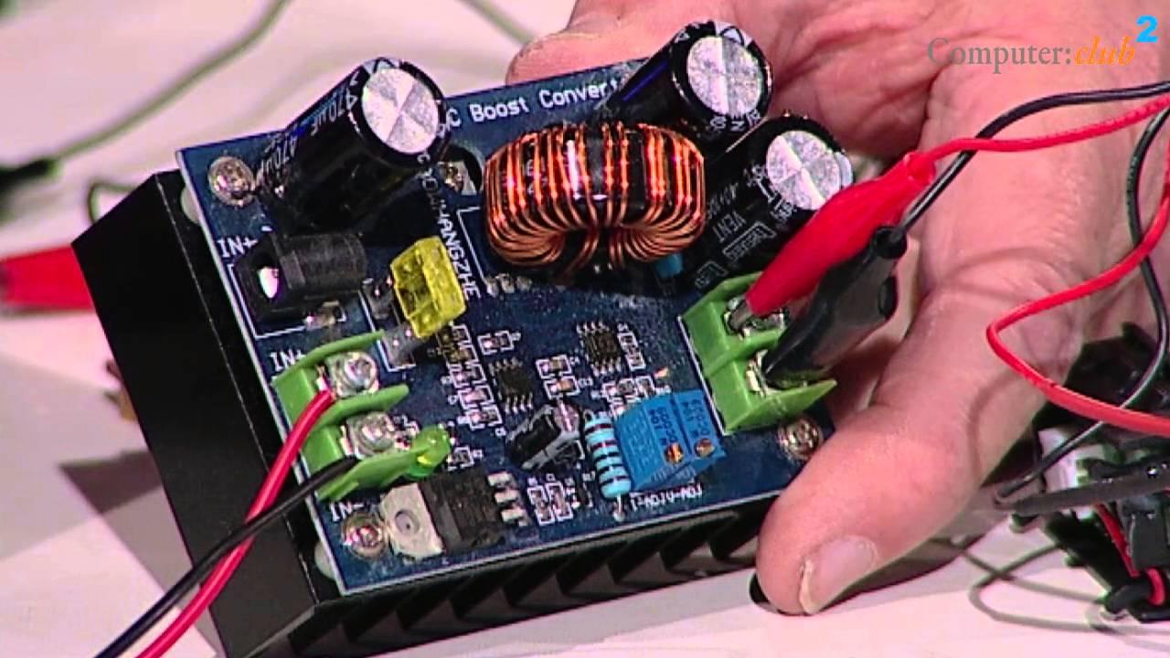 alte batterien noch einmal verwenden und ein step up bzw. Black Bedroom Furniture Sets. Home Design Ideas