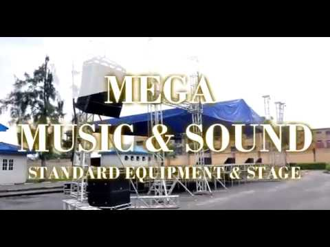Mega Music & Sound Line Array & Ultra Modern Stage FOR RENT. Call +2348023204069,  +2348033357956.