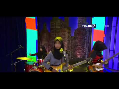 VoB (Voice of Baceprot) -  A Place For My Head (Linkin Park Cover) - Live At Trans7 2017