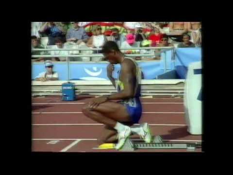 3954 Olympic Track & Field 1992 200m Men