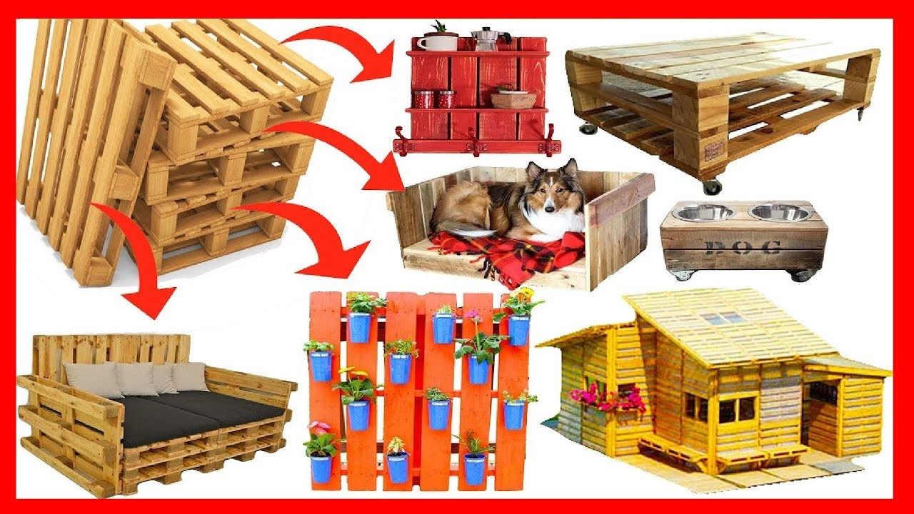 200 diy ideas recycling reuse pallet recycled wooden for Recycling furniture decorating ideas