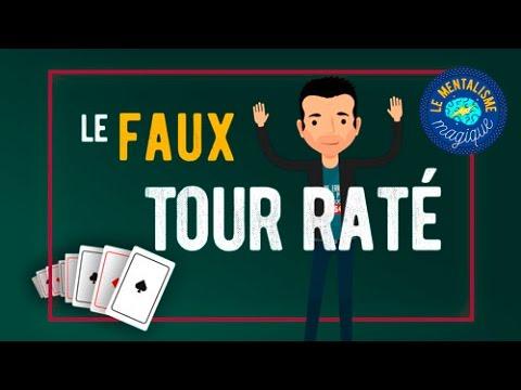 Comment faire SEMBLANT DE RATER un tour ! - par Fabien Olicard