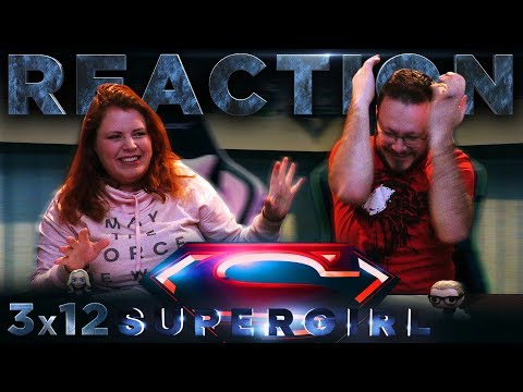 "Supergirl 3×12 REACTION!! ""For Good"""