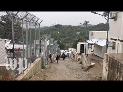 Go inside the deteriorating Moria refugee camp