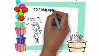 Happy Birthday Custom Animated Hand Drawn Video