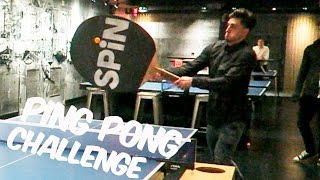 GIANT PING PONG CHALLENGE