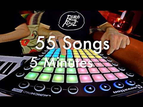 French Fuse  Mashup Fuse 55 Songs  5min